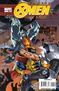 Cover Thumbnail for Uncanny X-Men: First Class (Marvel, 2009 series) #7