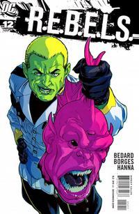 Cover Thumbnail for R.E.B.E.L.S. (DC, 2009 series) #12