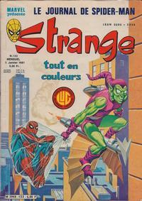 Cover Thumbnail for Strange (Editions Lug, 1970 series) #133
