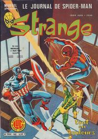 Cover Thumbnail for Strange (Editions Lug, 1970 series) #140