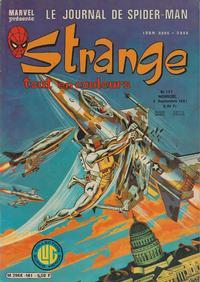 Cover Thumbnail for Strange (Editions Lug, 1970 series) #141