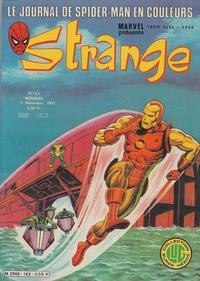 Cover Thumbnail for Strange (Editions Lug, 1970 series) #143
