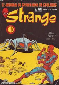Cover Thumbnail for Strange (Editions Lug, 1970 series) #144
