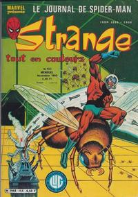 Cover Thumbnail for Strange (Editions Lug, 1970 series) #155