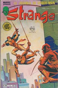 Cover Thumbnail for Strange (Editions Lug, 1970 series) #173
