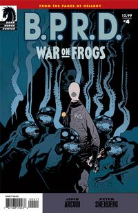 Cover Thumbnail for B.P.R.D.: War on Frogs (Dark Horse, 2008 series) #4