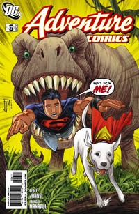 Cover for Adventure Comics (DC, 2009 series) #6 / 509 [Regular Direct Cover]