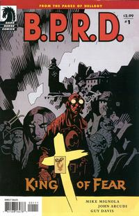 Cover Thumbnail for B.P.R.D.: King of Fear (Dark Horse, 2010 series) #1