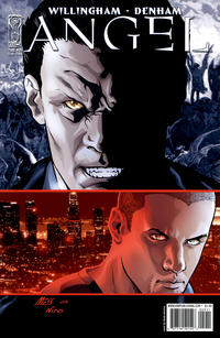 Cover Thumbnail for Angel (IDW, 2009 series) #29 [Cover B - David Messina]