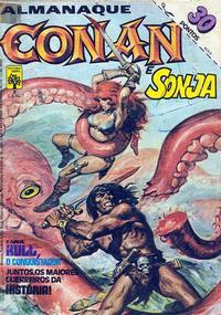 Cover Thumbnail for Almanaque Conan, O Bárbaro (Editora Abril, 1982 series) #3