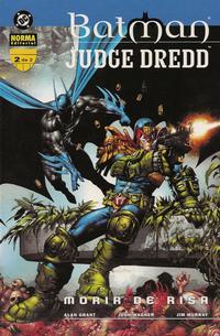 Cover Thumbnail for Batman / Judge Dredd: Morir de risa (NORMA Editorial, 2000 series) #2