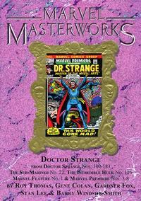 Cover for Marvel Masterworks: Doctor Strange (Marvel, 2003 series) #4 [Regular Edition]