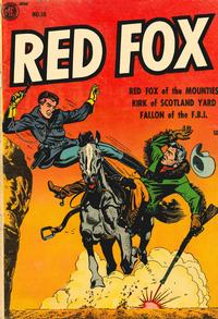 Cover Thumbnail for Red Fox (Magazine Enterprises, 1954 series) #15 [A-1 #108]