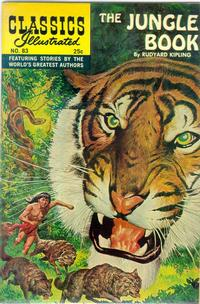 Cover Thumbnail for Classics Illustrated (Gilberton, 1947 series) #83 [HRN 166] - The Jungle Book