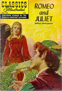 Cover Thumbnail for Classics Illustrated (Gilberton, 1947 series) #134 [O] - Romeo and Juliet [Second Painted Cover]