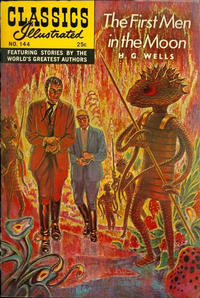 Cover Thumbnail for Classics Illustrated (Gilberton, 1947 series) #144 [O] - The First Men in the Moon [Second Painted Cover]
