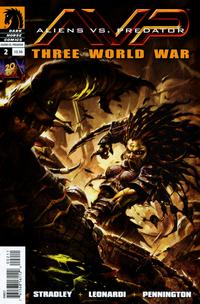 Cover Thumbnail for Aliens vs. Predator: Three World War (Dark Horse, 2010 series) #2