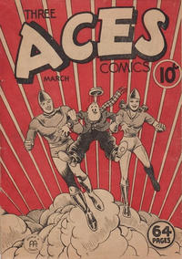 Cover Thumbnail for Three Aces Comics (Anglo-American Publishing Company Limited, 1941 series) #v2#2