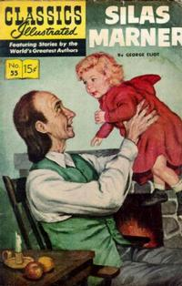 Cover Thumbnail for Classics Illustrated (Gilberton, 1947 series) #55 [HRN121] - Silas Marner