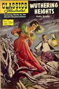 Cover Thumbnail for Classics Illustrated (Gilberton, 1947 series) #59 [HRN156] - Wuthering Heights