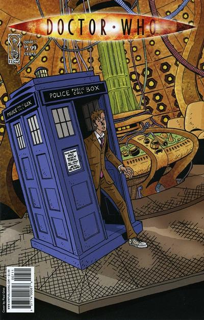 Cover for Doctor Who (IDW, 2009 series) #7 [Cover A]