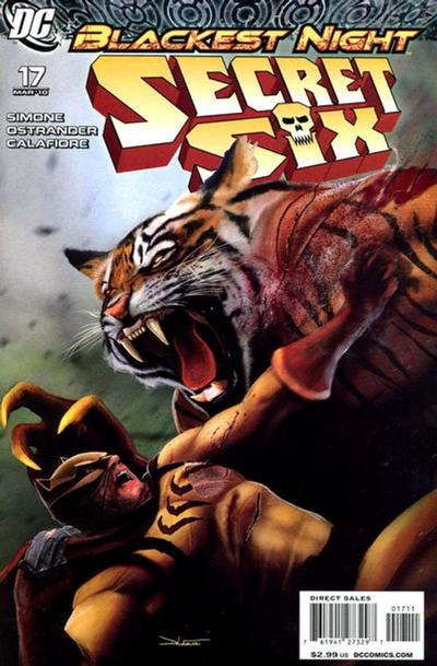 Cover for Secret Six (DC, 2008 series) #17
