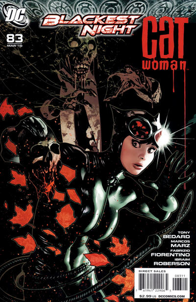Cover for Catwoman (DC, 2002 series) #83