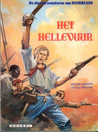 Cover for Roodbaard (Novedi, 1982 series) #18 - Het hellevuur