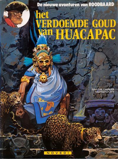 Cover for Roodbaard (Novedi, 1982 series) #22 - Het verdoemde goud van Huacapac