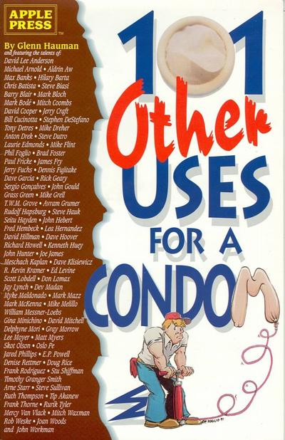 Cover for 101 Other Uses for a Condom (Apple Press, 1991 series)