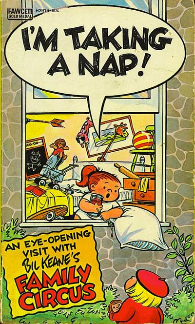 Cover for I'm Taking a Nap! (Gold Medal Books, 1974 series) #R2916