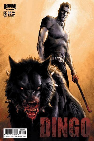 Cover for Dingo (Boom! Studios, 2009 series) #2