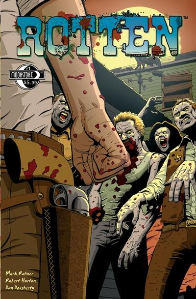 Cover for Rotten (Moonstone, 2009 series) #1
