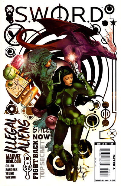 Cover for S.W.O.R.D. (Marvel, 2010 series) #5