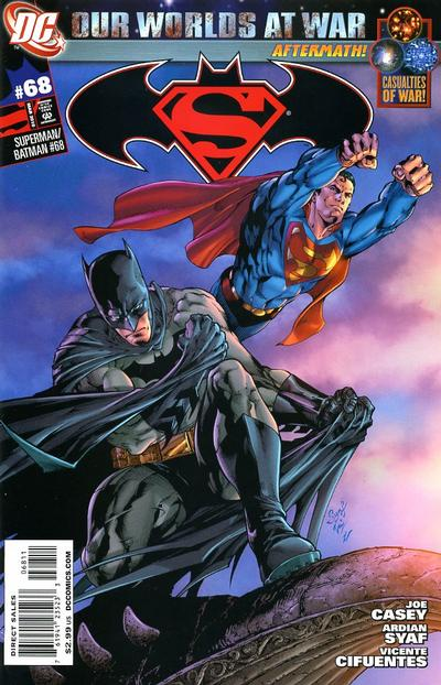 Cover for Superman / Batman (DC, 2003 series) #68 [Direct Edition]