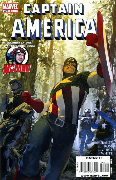 Cover for Captain America (Marvel, 2005 series) #602