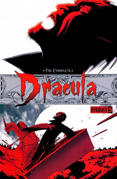 Cover for The Complete Dracula (Dynamite Entertainment, 2009 series) #5