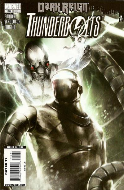 Cover for Thunderbolts (Marvel, 2006 series) #140