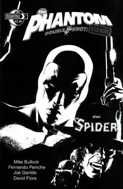Cover for The Phantom Double Shot: KGB Noir (Moonstone, 2010 series) #6