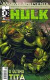 Cover for Marvel Apresenta (Panini Brasil, 2002 series) #6 - Hulk: O Último Titã