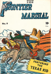 Cover Thumbnail for The Frontier Marshal (Bell Features, 1951 series) #9