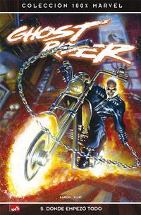 Cover Thumbnail for 100% Marvel: Ghost Rider (Panini España, 2007 series) #5