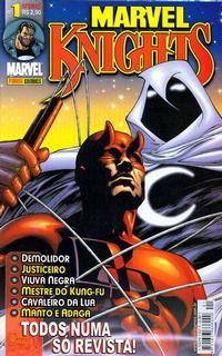 Cover Thumbnail for Marvel Knights (Panini Brasil, 2002 series) #1