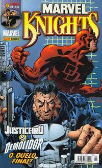 Cover Thumbnail for Marvel Knights (Panini Brasil, 2002 series) #6
