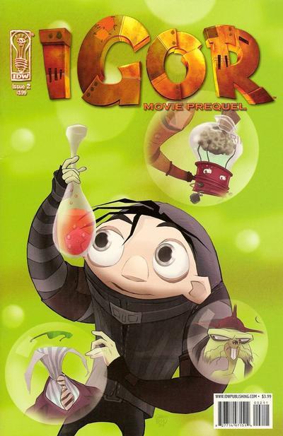 Cover for Igor Movie Prequel (IDW, 2008 series) #2