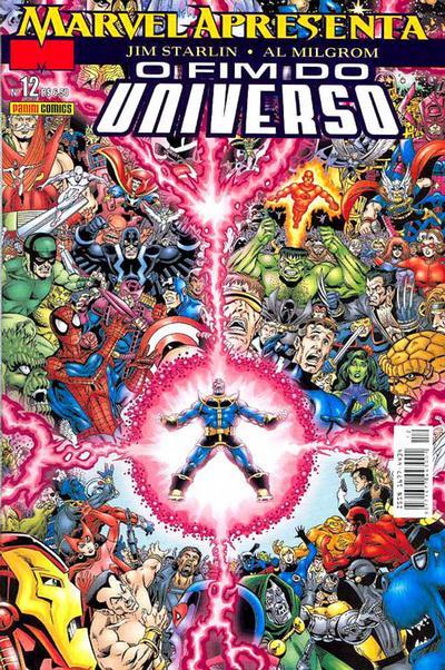 Cover for Marvel Apresenta (Panini Brasil, 2002 series) #12 - O Fim do Universo: Parte 1