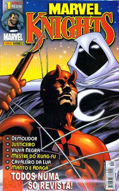 Cover for Marvel Knights (Panini Brasil, 2002 series) #1