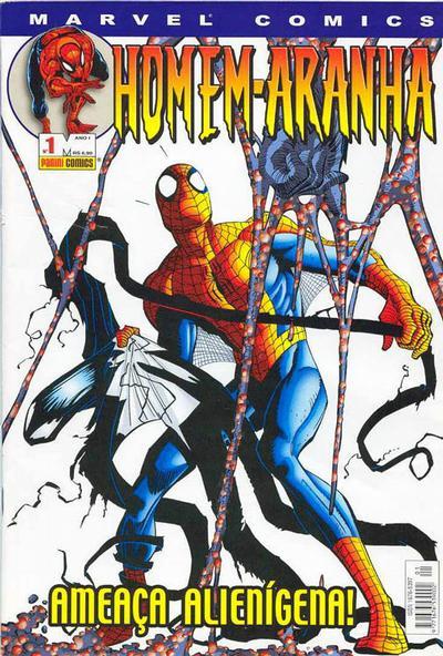 Cover for Homem-Aranha (Panini Brasil, 2002 series) #1