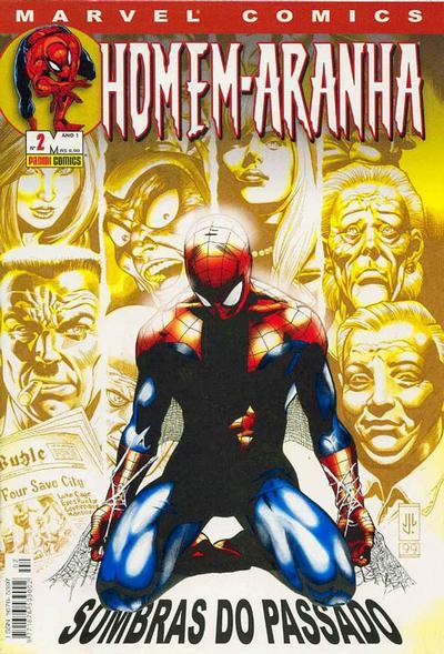 Cover for Homem-Aranha (Panini Brasil, 2002 series) #2
