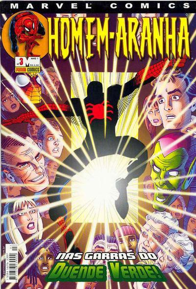 Cover for Homem-Aranha (Panini Brasil, 2002 series) #3
